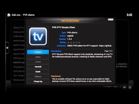 XBMC LIVE TV Setup How to!!!