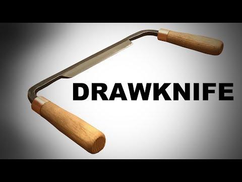 Forging a Drawknife - Blacksmithing
