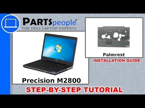 Dell Precision M2800 (P29F001) Palmrest How-To Video Tutorials