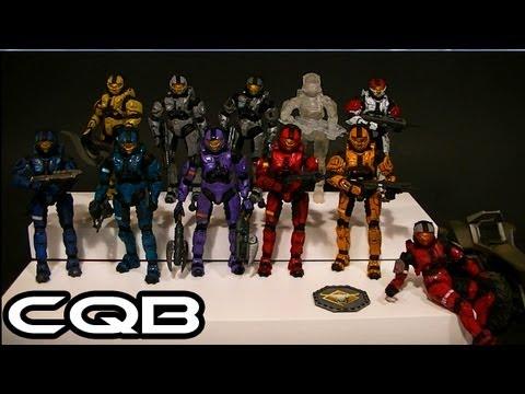 McFarlane Halo 3 CQB Armor Comparative Figure Review