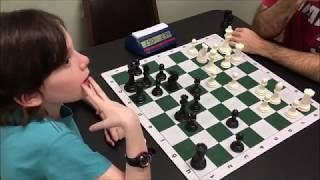 This Move Makes Him Literally Fall Out Of His Chair! 8 Year Old Golan vs Michael