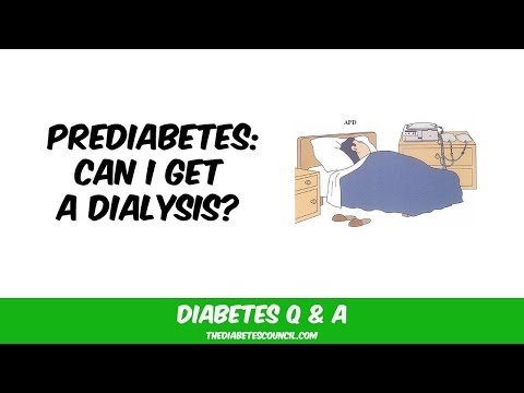 Will I Have To Go On Dialysis Because Of Prediabetes?