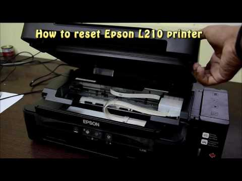 Reset Epson L210 Waste Ink Pad Counter