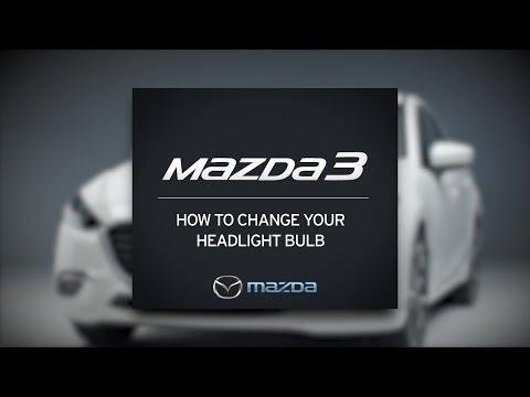 How to change the driver side headlight bulb | Mazda3 Tutorial | Mazda Canada