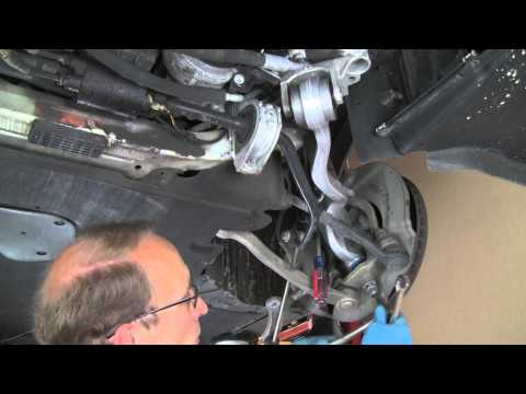 Replacing upper / thrust control arm on late model BMW 5, 6, 7 and X series
