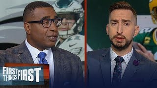 Cris Carter on how Carson Wentz's Eagles can upset the 3-0 Packers on TNF | NFL | FIRST THINGS FIRST