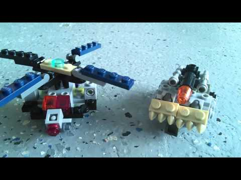 Lego transformers Autobots and decepticons
