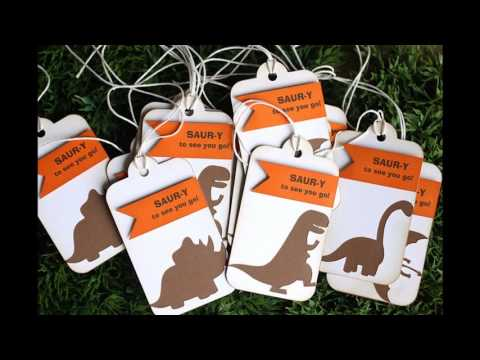 Dinosaur party themed decorating ideas