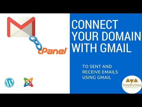 How to use domain email with gmail account - connect send and receive emails in few steps