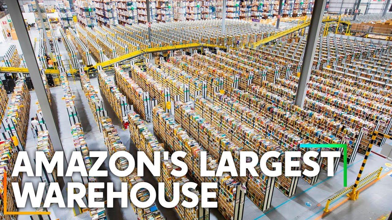 Inside Amazon's Largest Warehouse