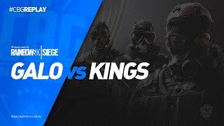 CBG REPLAY #15 - Galo e-Sports VS Kings Team - Rainbow Six (PS4)