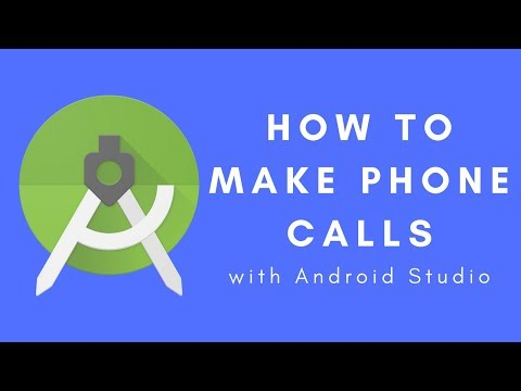 Android Studio Phone Call 2017