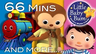 Nursery Rhymes Compilation   Our Most Popular Videos!   66 Mins from LittleBabyBum!
