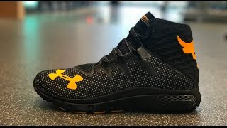 Kof Field Trip: Unboxing The Project Rock X Under Armour Delta Trainer