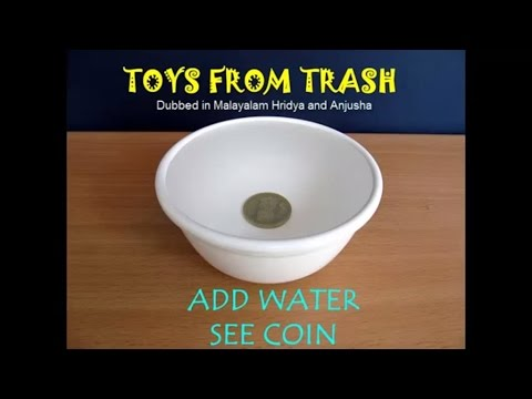 Add Water See Coin | Marathi | Fun with Light