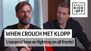 When Crouch met Klopp!