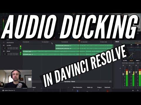 AUDIO DUCKING in Davinci Resolve