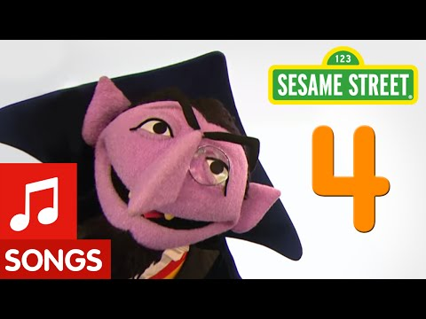 Sesame Street: Number 4 (Number of the Day)