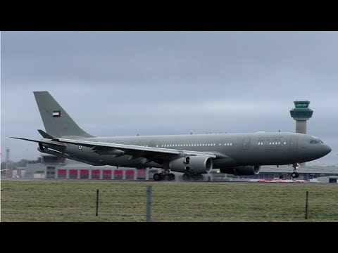 UAE Air Force A330 1302 at London Stansted Airport