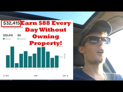 2 Ways To Make $88 EVERYDAY On AirBnb WITHOUT Owning Property!