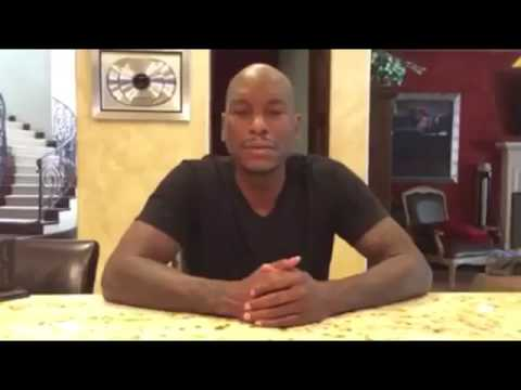 Tyresse Gibson Exposes Evil Agenda in Social Media + Illuminati