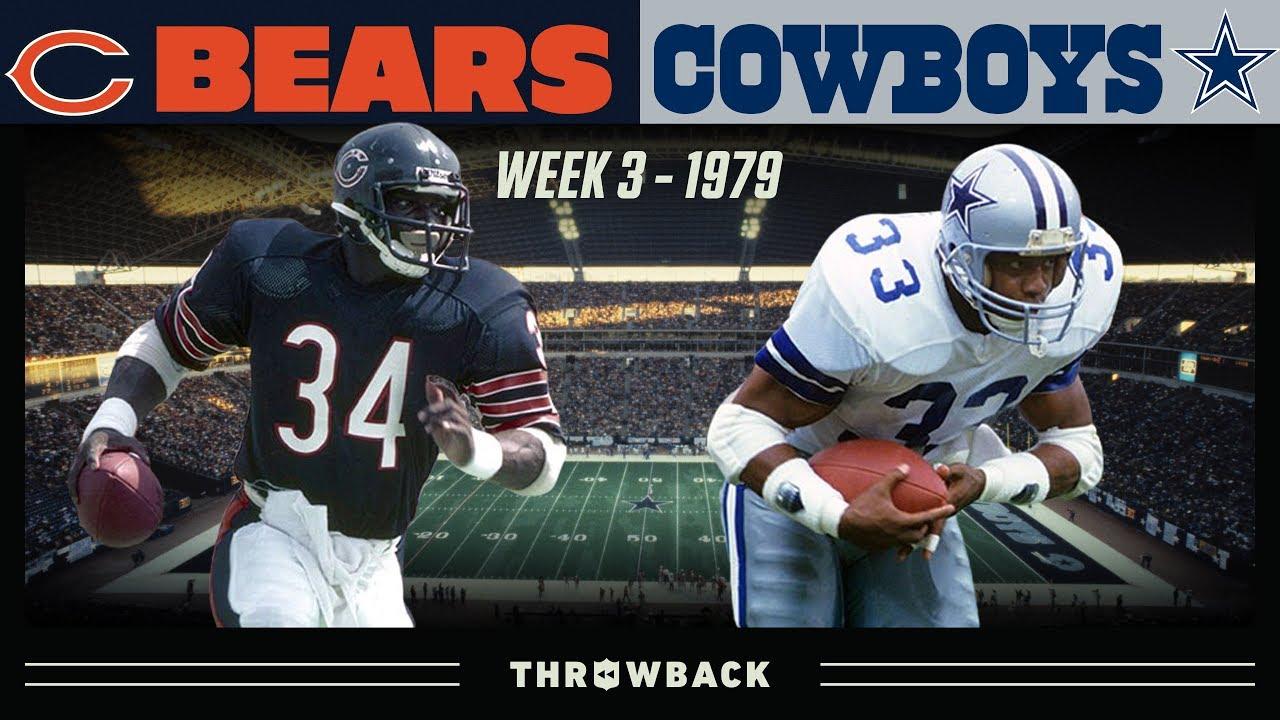 Sweetness & Captain Comeback Put on a Show! (Bears vs. Cowboys 1979, Week 3)