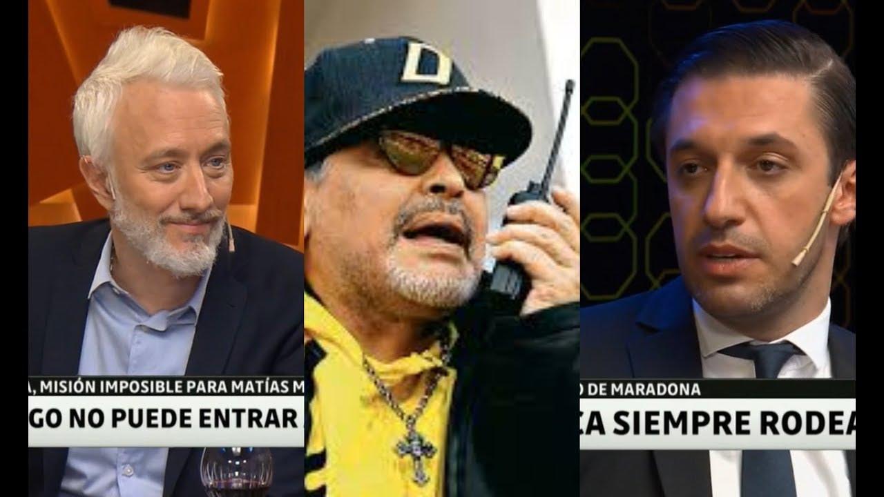Matias Morla contó los insólitos motivos por los que Maradona no puede entrar a EEUU