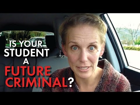 Classroom Management for Secondary Teachers #9, Is This Problem Student a Criminal? Help & Advice