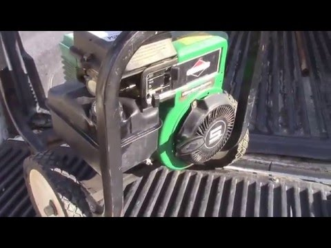 Fixing Carburetor : Coleman Generator with Briggs Motor