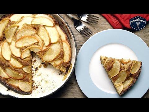 Apple Skillet Cake || Le Gourmet TV Recipes