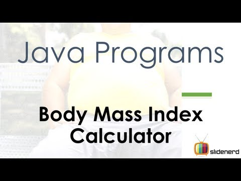32 Java BMI Calculator |