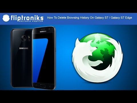 How To Delete Browsing History On Galaxy S7 / Galaxy S7 Edge - Fliptroniks.com