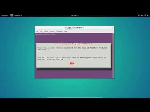 Install Oracle Java 8 on Ubuntu GNOME 15.10 via ppa:webupd8team