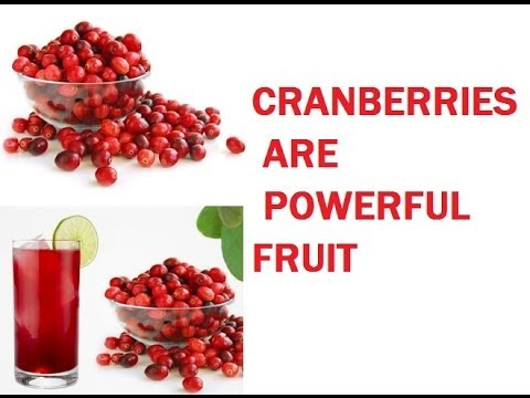 Cranberry - Superfruit - MVP of all Berries