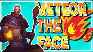 Hearthstone: Meteor The Face