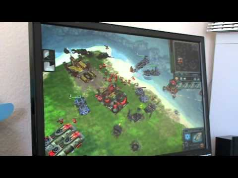 Red Alert 3 Demo on Mac Mini 2009