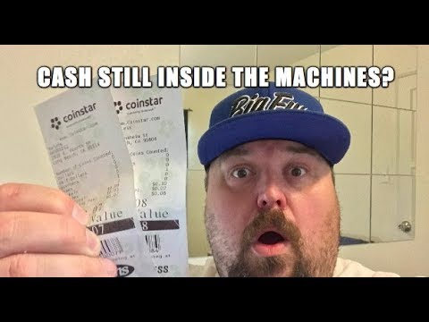 Simple Trick To Get Even More Coins At A Coinstar! Free Cash Still Inside Machine!