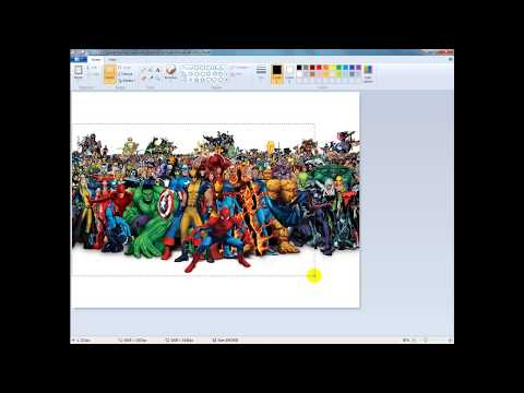 Use Windows Paint to Simply Adjust Picture Size for Video Use