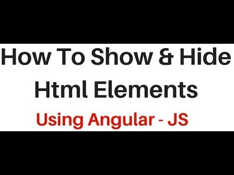 angularJS using ng-hide and ng-show html elements with radio buttons