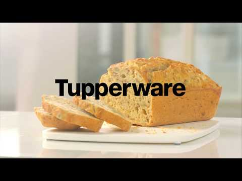 Tupperware - How to make bread in a jiff… with beer!