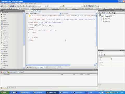 building a website in asp dotnet basics using c# - tamil tutorials