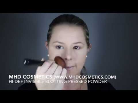 MHD Cosmetics - Hi-Def Invisible Blotting Pressed Powder