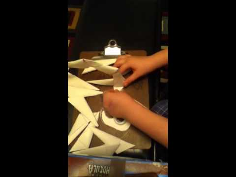 How to make an origami scorpion