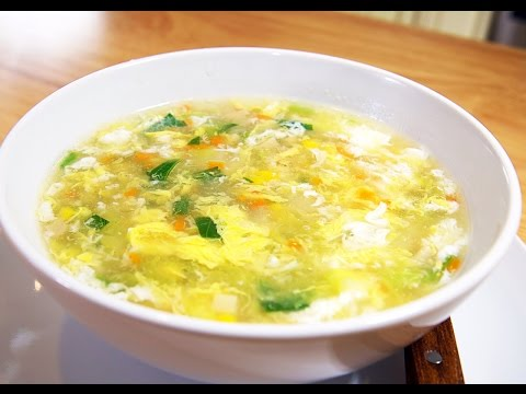 The Ultimate Vegetable Egg Drop Soup Recipe, CiCi Li