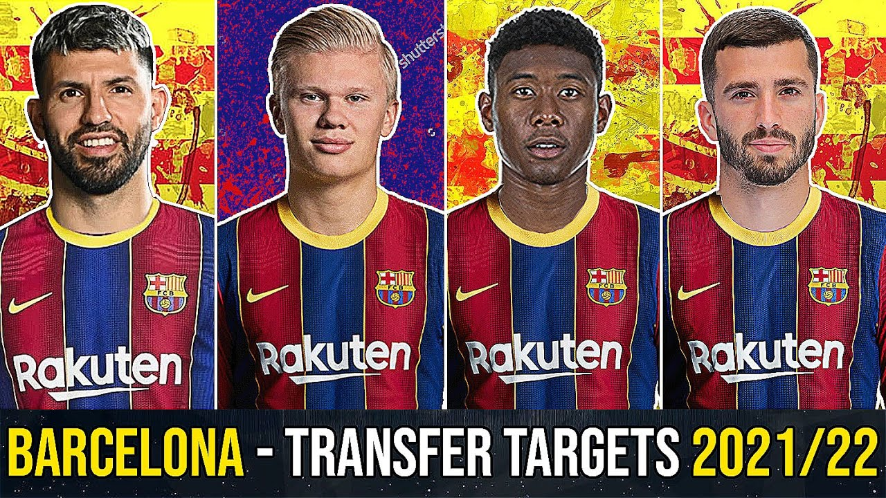 BARCELONA - Every Transfer Target For Next Season! (2021/22) ft. Haaland, Depay, Aguero, Gaya, Alaba