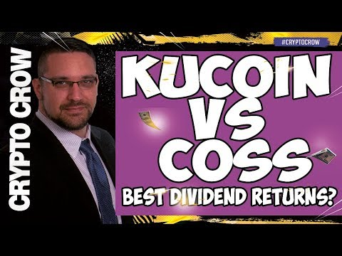 KuCoin vs Coss - Best Crypto Dividends? Build a Retirement Portfolio 😱🚀