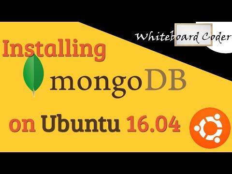 Installing MongoDB 3.4.6 on UBuntu 16.04