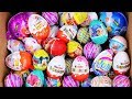Unboxing New Kinder Joy Surprise Eggs And Big Eggs ToyStory Frozen Moomin Incredible For Boy amp Girl