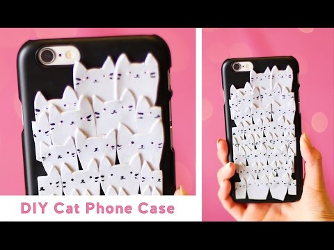 DIY Pile of Cats Phone Case 😻 Polymer Clay Tutorial