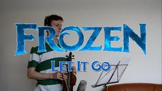 Frozen: Let It Go - Kirsten & Robert Lopez (violin cover + sheet music)